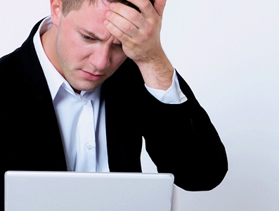 unhappy employmee